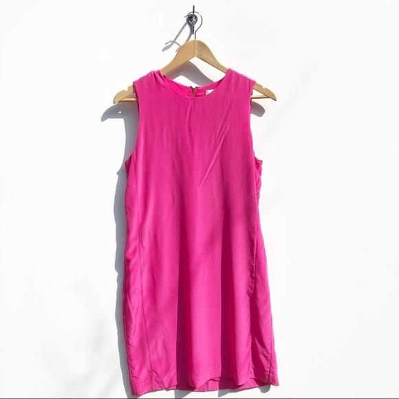 Cynthia Rowley Dresses & Skirts - Cynthia Rowley Pink 100% Silk Dress size 6